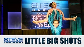 Little Big Shots: Salsa Dancers || STEVE HARVEY