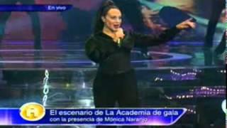 """Monica Naranjo - """"El amor coloca""""  - En la academia bicentenario"""