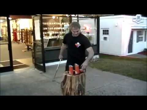 Traditional Filipino Weapons - a cut class cutting all kinds of stuff, using many different swords