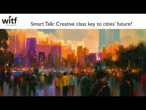 WITF, Smart Talk: Creative class key to cities' future?