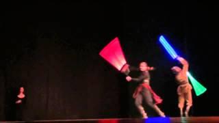 видео Мастер-классы по артистическому фехтованию