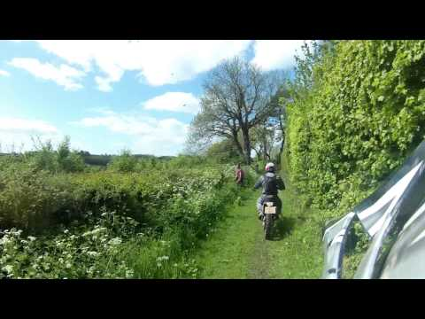 A Ride Through Wiltshire & Hampshire (CRF450X, 16.05.15)