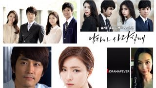 "t0inkyTV ~ kDrama review #11 ~ ""When a Man Loves"" aka ""남자가 사랑할 때"""