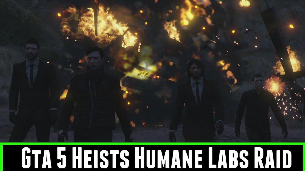 FailRace Play Gta 5 Heists Humane Labs Raid - YouTube