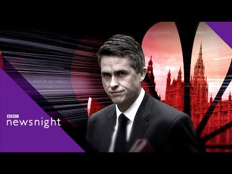 Gavin Williamson: The rise and fall of the former defence secretary – BBC Newsnight
