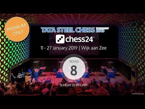 Round 8 - 2019 Tata Steel Chess Masters