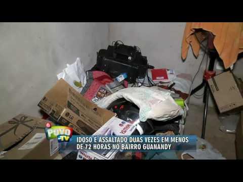Idoso tem casa roubada duas vezes em menos de 72h