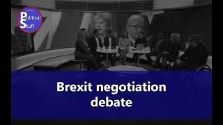Brexit Negotiations Debate