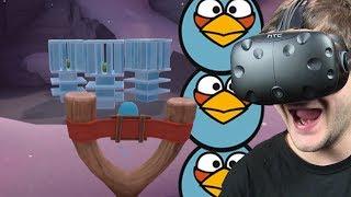 NIEBIESKIE WRÓBLE - Angry Birds VR: Isle of Pigs #3 (HTC VIVE VR)