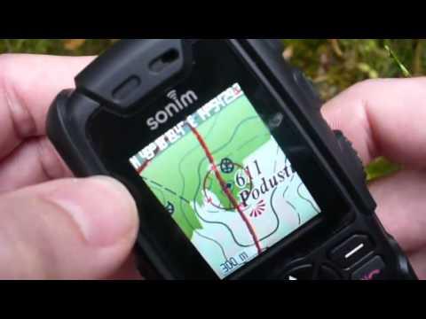 Sonim XP3 Quest (Pro) a offline GPS navigace TrekBuddy (Czech)