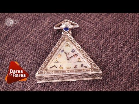 Die Händler springen im Dreieck! Seltene Freimaurer-Uhr bei Bares für Rares vom 27.03.2018 | ZDF