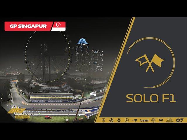 🔴 F1 2020 // Retransmisión SoloF1 (Gp Singapur)