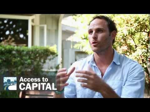 Transformative Nature of Access to Capital -- Chance Barnett