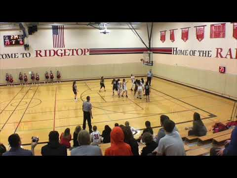 Game Highlights, Alyssa Neumann, Ridgetop Middle School/NW Magic