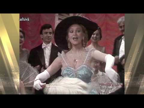 Soprana Bianca Ionescu - imagini din Arhiva TVR (@Ieri-Azi-Mâine)