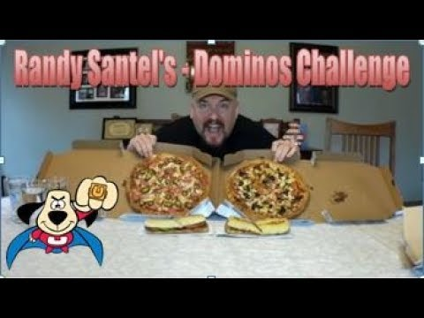 Randy Santel's Domino's Pizza $20 Meal Challenge CRUSHED (tonight my Channel gets demonitized)