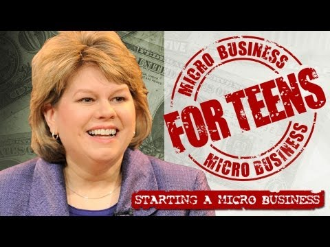 Micro Business for Teens: Starting a Micro Business