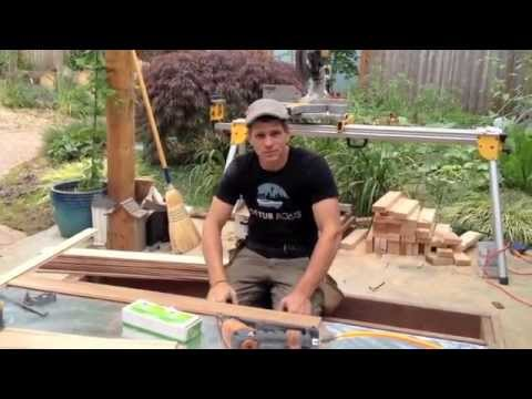 How to build an outdoor sauna in ten days youtube for How to build a backyard sauna