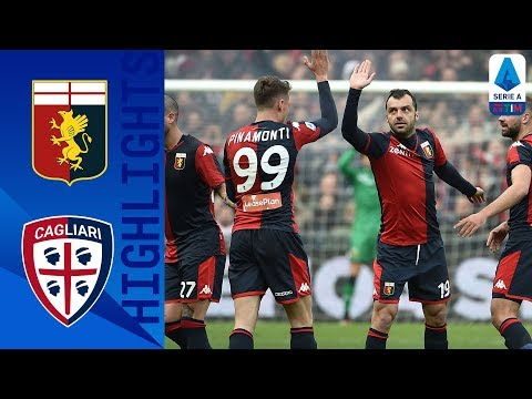 Genoa 1-0 Cagliari | Pandev Goal Earns Genoa Win at Home! | Serie A TIM