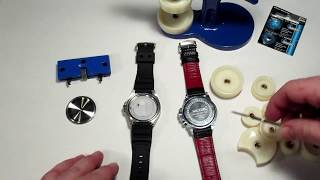 Un petit clip qui montre comment changer la pile d'une montre au qu...