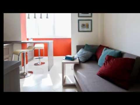 Дизайн кухни совмещенной с балконом. Дизайн Небольшой кухни.