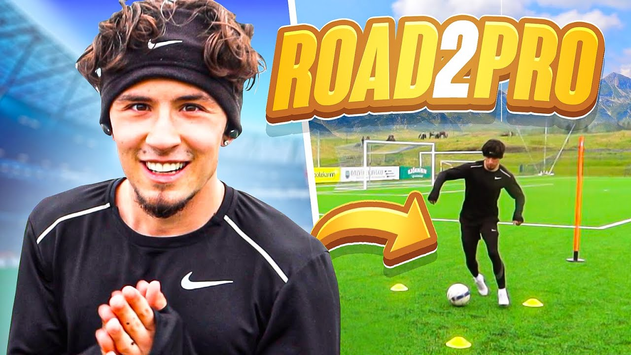 YOUNG Footballer Chasing PRO CONTRACT Abroad... (DAY IN THE LIFE OF A FOOTBALLER)