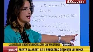 Andreea Crețulescu, 12 feb Calculele care demontează marea minciuna despre pensii