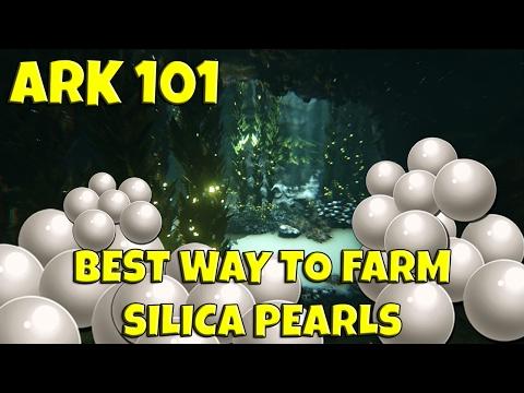 ARK 101: Best way to farm Silica Pearls! (Feb. 2017)