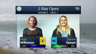 2016 J-Bay Open: Round 2, Heat 1 Video