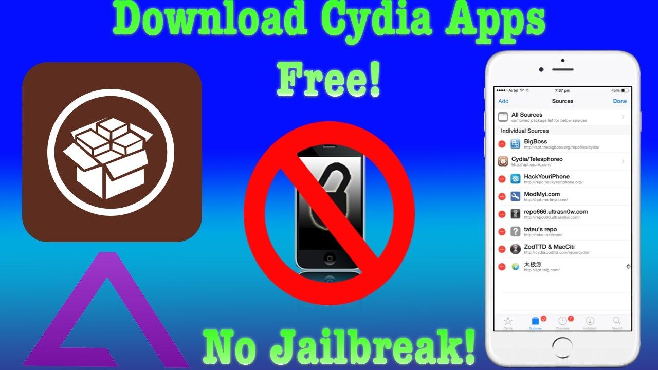 Download Cydia Apps - NO JAILBREAK
