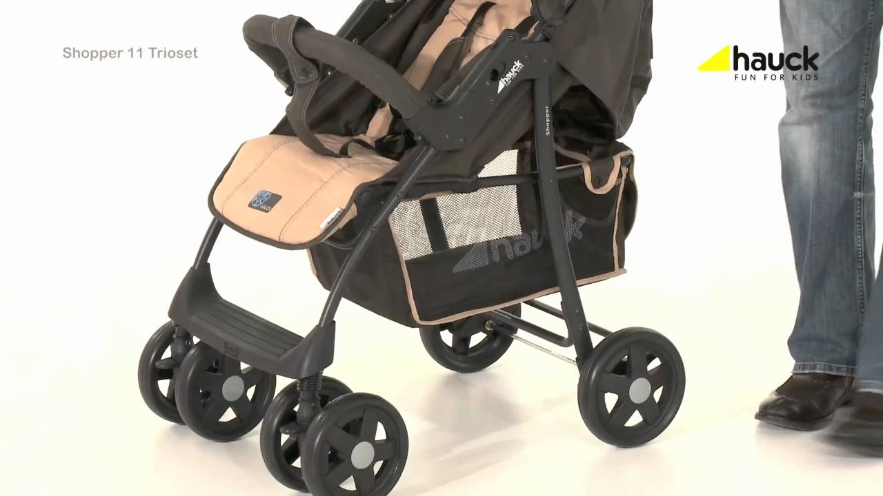 Hauck Shopper Slx Travel System Youtube Hauck Shopper Trio Set Travel System Video Review Online4baby Youtube