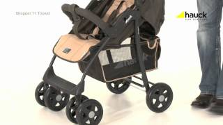Hauck Shopper Trio Set Travel System Video Review - Online4baby - YouTube