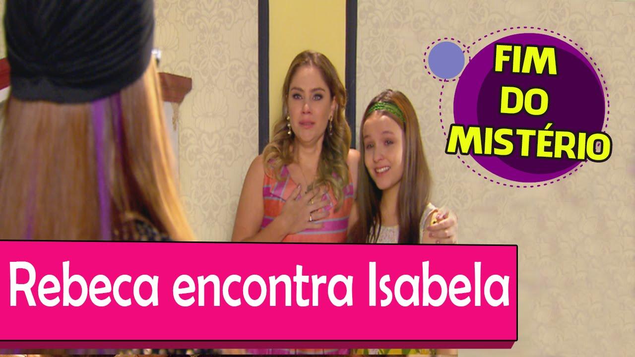 Rebeca descobre toda verdade e vê as gêmeas Isabela e Manuela juntas -  CÚMPLICES DE UM RESGATE! - YouTube 41094a4c7a