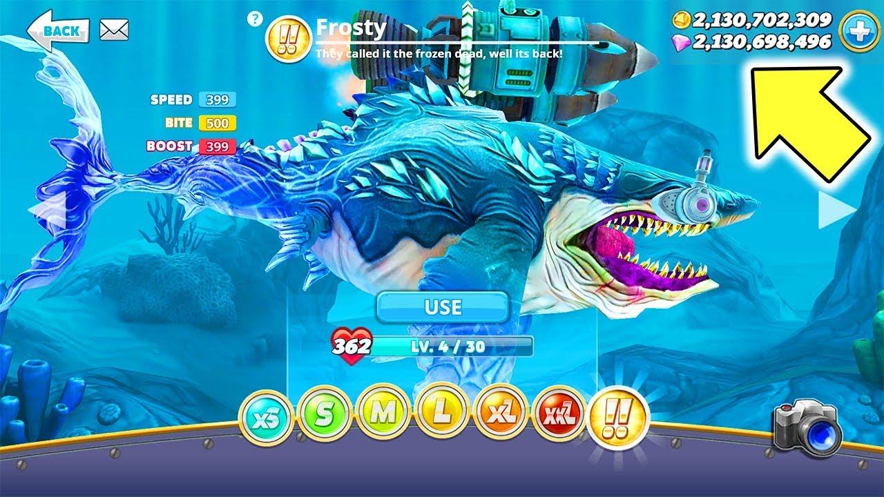 Cách Kiếm Kim Cương & Tiền Dễ Nhất Trong Game Hungry Shark