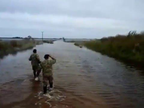 Inundaciones en San Miguel, partido de Adolfo Alsina (de Nicolas Bahl)