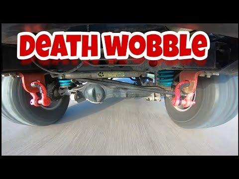 DEATH WOBBLE 80 SERIES LANDCRUISER - CAUGHT ON CAMERA