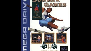 D.Lux tries: Olympic Summer Games (Sega,1996)