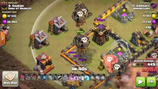 Clash of Clans 3* Attacks #47 / Fresh hit 3 vs a max 10!