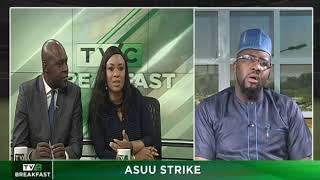 TVC Breakfast 7th Nov., 2018 | ASUU Strike