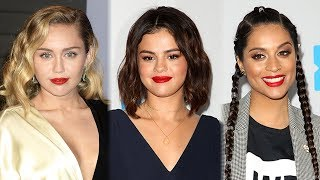 miley cyrus lilly singh more defend selena gomez after designer calls her ugly
