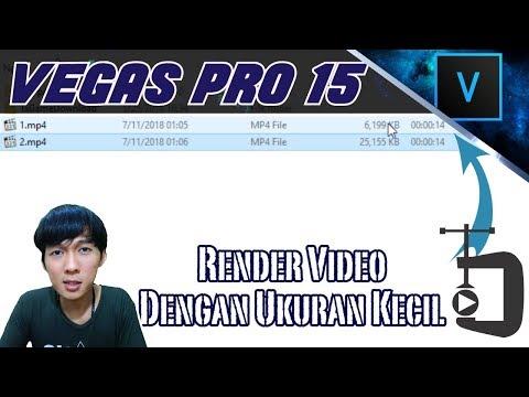 TUTORIAL RENDER CEPAT ukuran kecil HD QUALITY : untuk semua editor!.