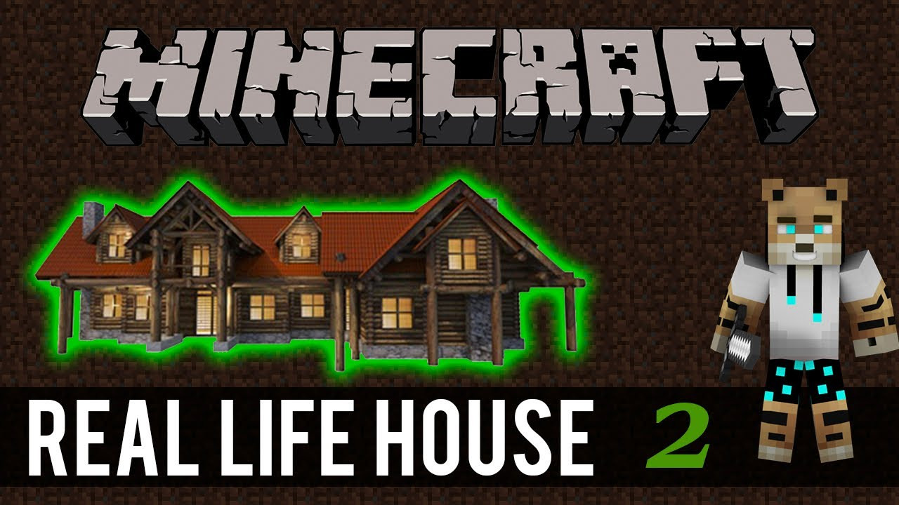 Building my real life house in minecraft the blueprint 2 youtube building my real life house in minecraft the blueprint 2 malvernweather Images