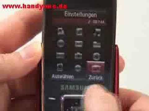 Samsung SGH E840 Bedienung