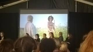 Making of Poldark at Radio Times Festival