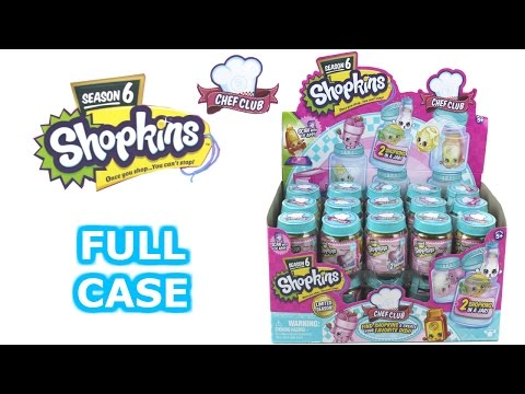 Shopkins Season 6 Chef Club Blind Box...