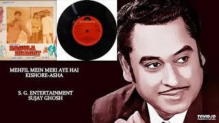 VERY RARE - MEHFIL MEIN MERI AYE HAI - KISHORE-ASHA - BAGULA BHAGAT(1978) - KALYANJI ANANDJI