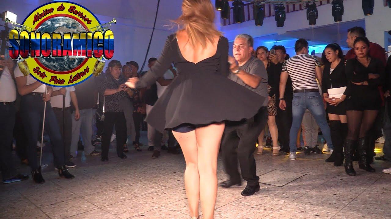 ?NOCHE DE RICA SALSA !!!  (( QUEDATE CALLADA )) ?SONIDO SONORAMICO - SALON COSMOS 2000