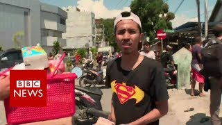 Indonesia quake looter: 'We need to eat' - BBC News