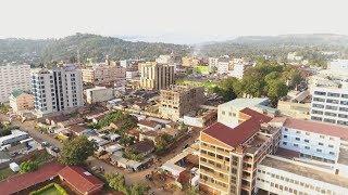Kisii Town   Kenya Drone footage