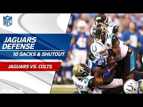 Jacksonville Racks Up 10 Sacks & Get the Shutout vs. Indy! | Jags vs. Colts | Wk 7 Player Highlights